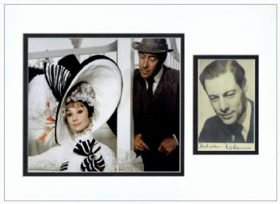 Rex Harrison Autograph Signed My Fair Lady For Sale
